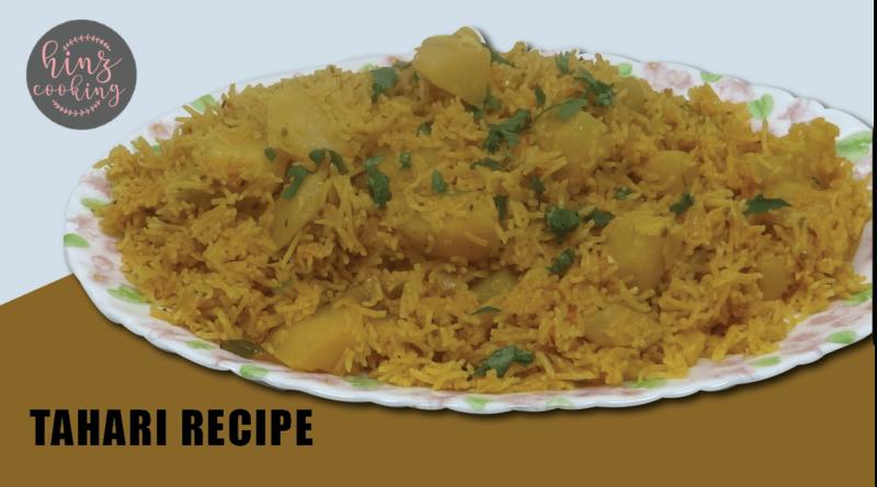 Tahari recipe