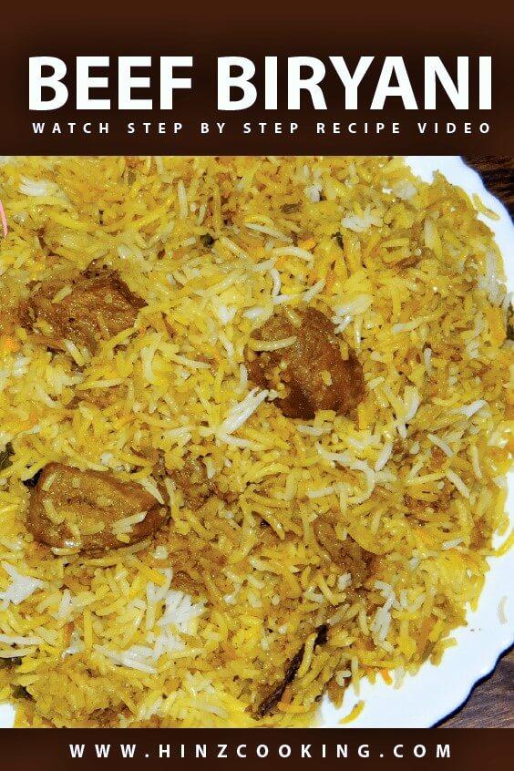 Beef Biryani Beef Biryani Recipe Eid Special Beef Biryani