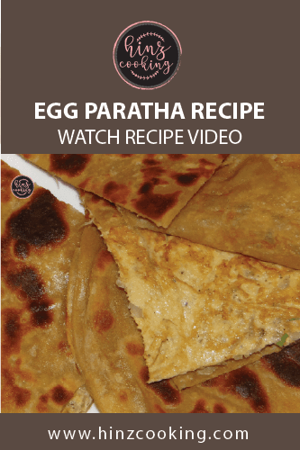 egg paratha recipe - anda paratha