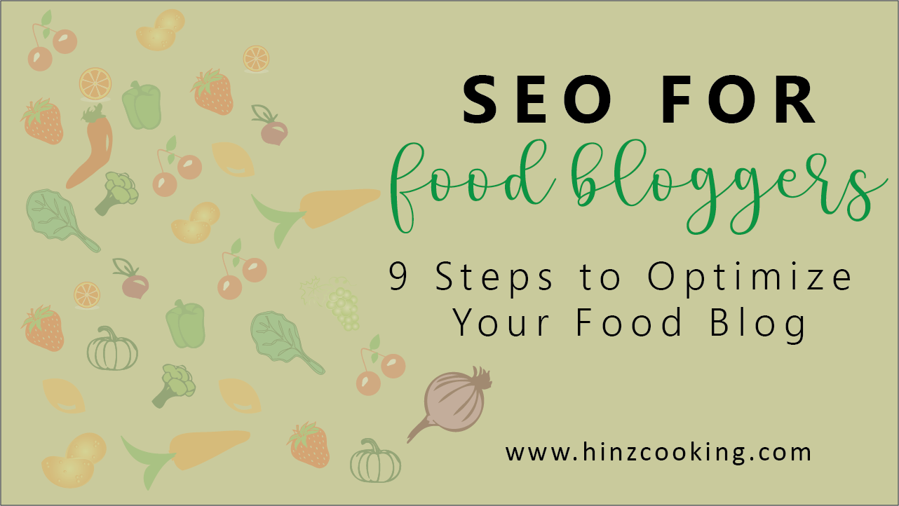 seo for food bloggers
