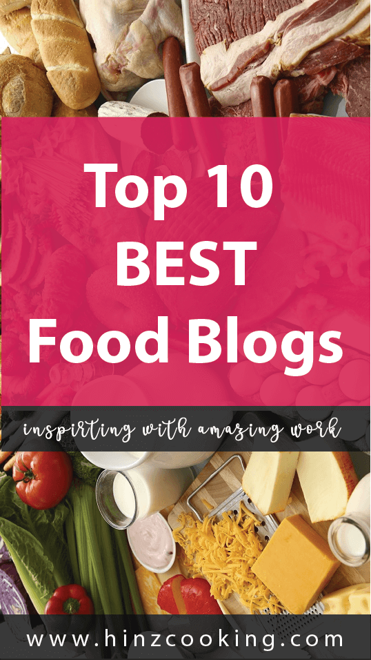top 10 best food blogs