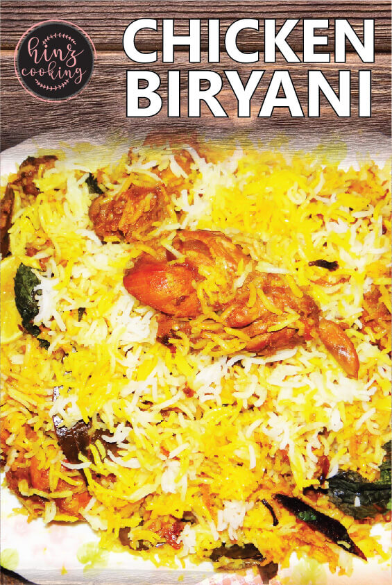 pakistani chicken biryani