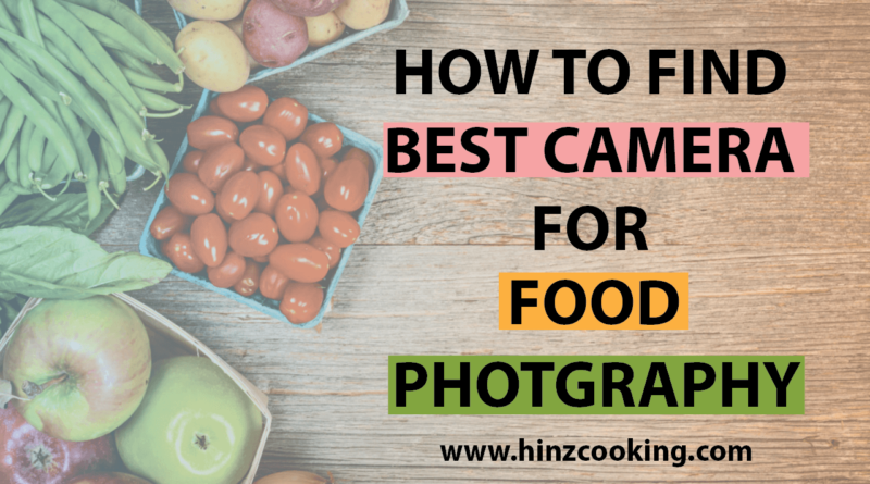 best camera for food photography