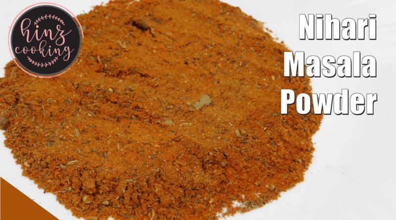 nihari masala powder