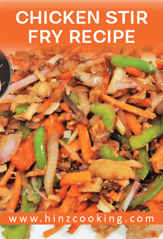 Chicken Stir Fry Recipe  Chicken Stir Fry with Vegetables