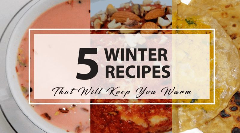 winter food recipes Indian