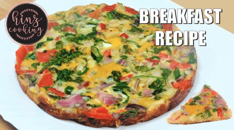 easy egg and bread breakfast recipes - tasty breakfast recipes
