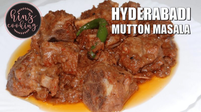 hyderabadi mutton masala recipe