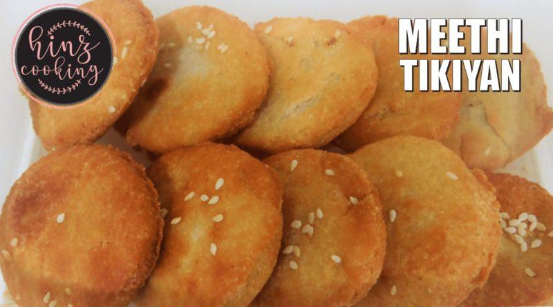 meethi tikiyan recipe