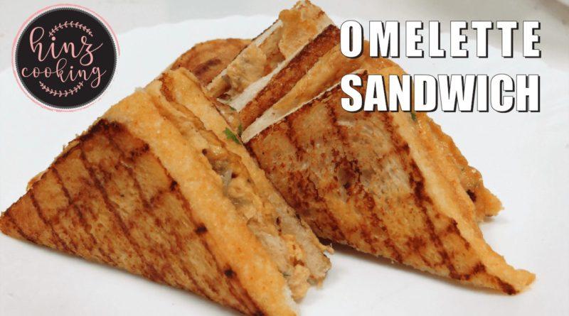 omelette sandwich recipe