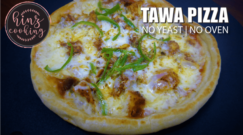 Tawa Pizza Recipe - How to Make Pizza on Tawa