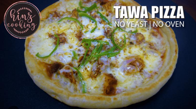 Tawa Pizza Recipe - How to Make Pizza on Tawa