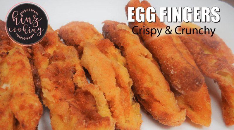 egg fingers - crispy egg finger recipe