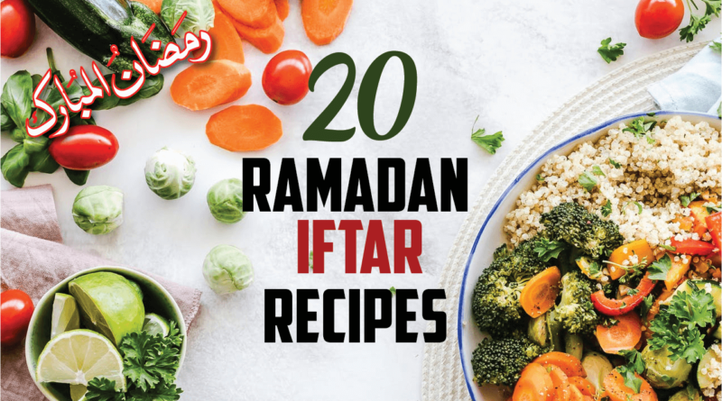 ramadan recipes for iftar