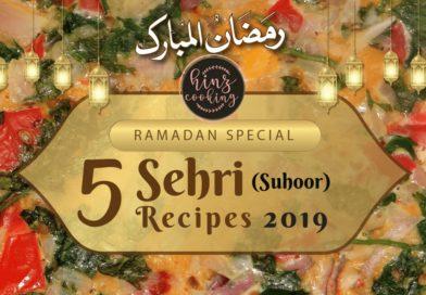 sehri recipes - suhoor recipes - ramadan recipes