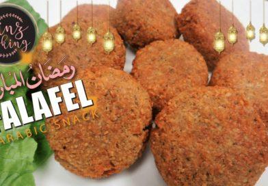 Falafel recipe - chickpea falafel - how to make falafel at home