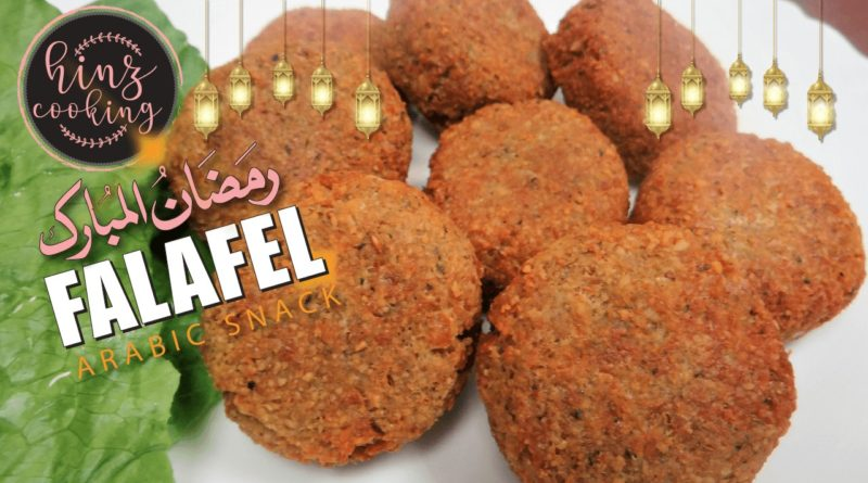 Falafel recipe - chickpea falafel - how to make falafel at home