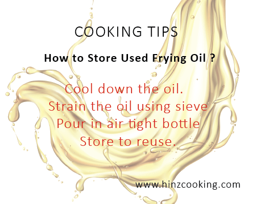 10 how to store used frying oil