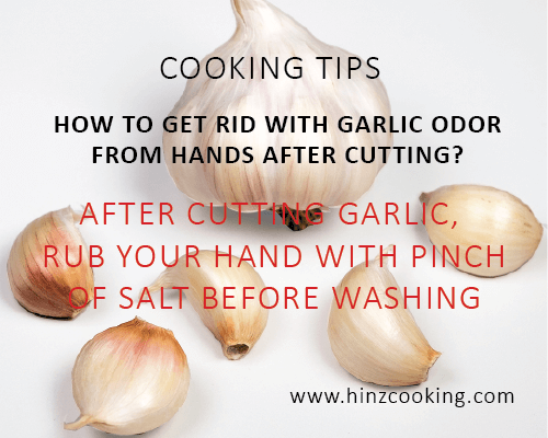 5 how to get rid with garlic odor from hands