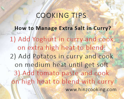 9 how to manage salt in curry