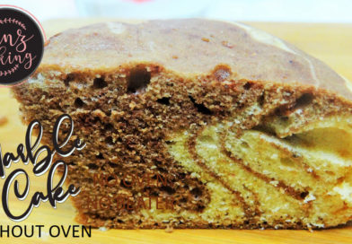 Chocolate Marble Cake Recipe Without Oven - Marble Cake Recipe with Oil (Video)-01