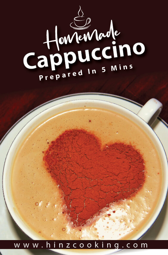 How to Make Cappuccino at Home - Cappuccino Recipe