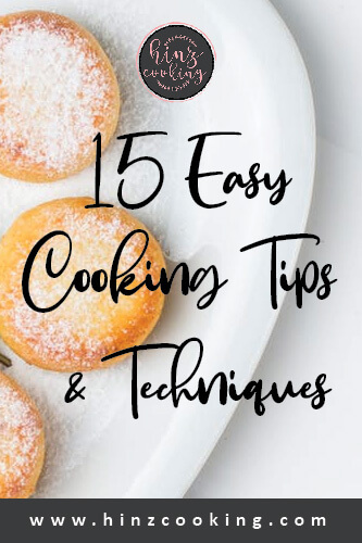 cooking tips and techniques