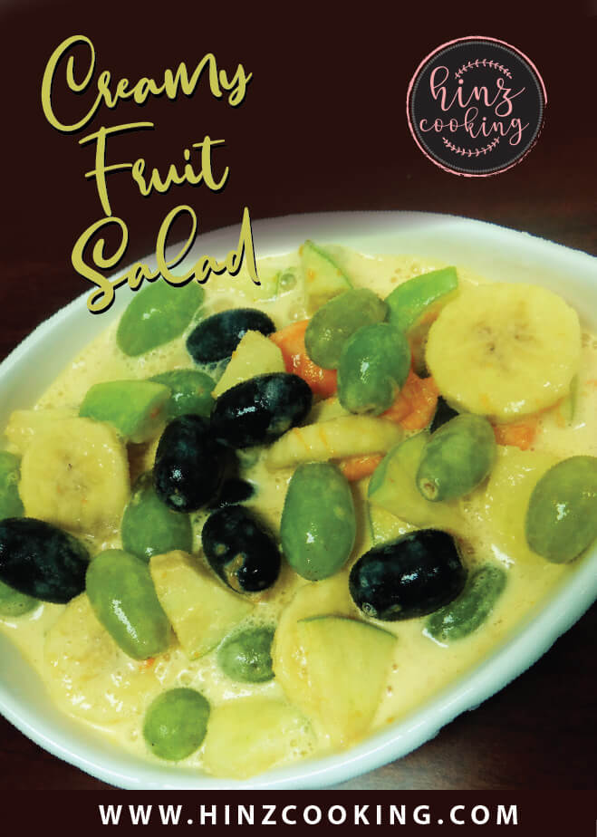 cream fruit salad recipe