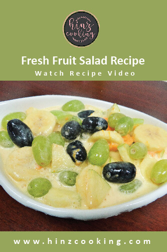 fresh fruit salad recipe - fruit chaat-01