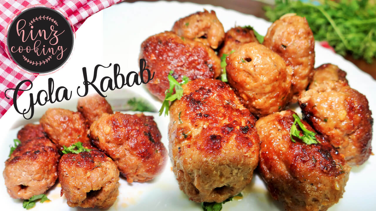 gola kabab - gola kabab recipe video - gola kabab recipe in urdu