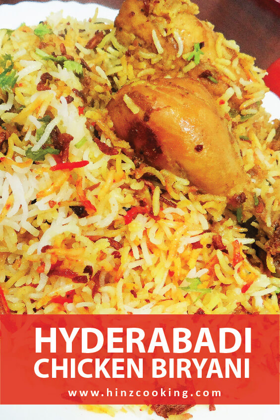 hyderabadi biryani - biryani recipe - hyderabadi chicken biryani recipe
