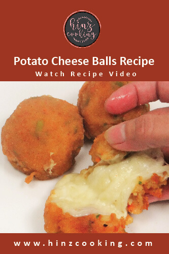 potato cheese balls recipe - how to make potato cheese balls