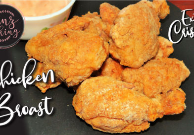 CHICKEN BROAST RECIPE KFC STYLE FRIED CHICKEN AT HOME