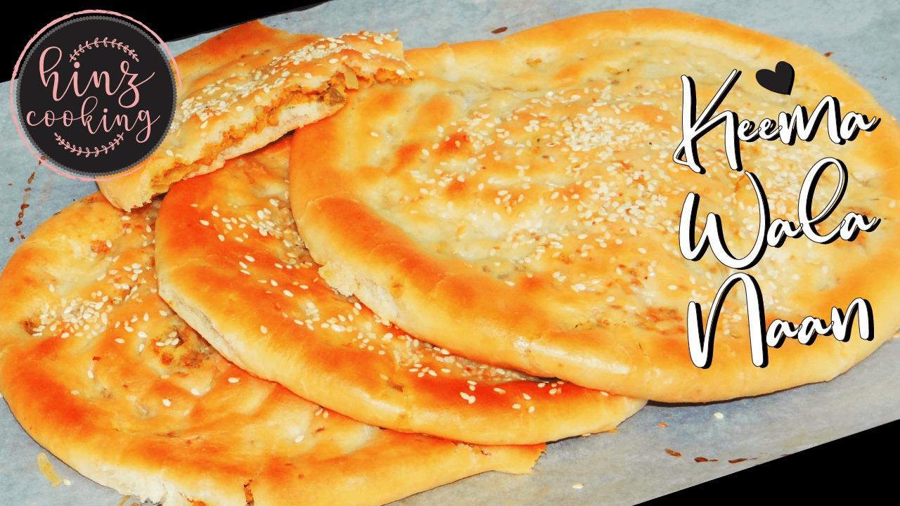 keema naan recipe Pakistani - keema wala naan - best naan recipe - stuffed naan