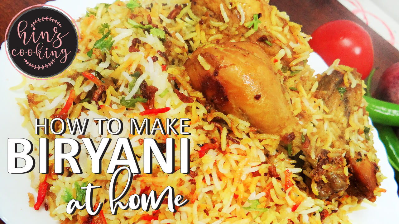 how to make biryani at home