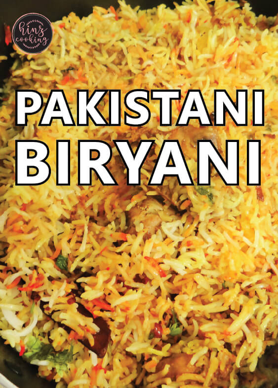 pakistani biryani recipe