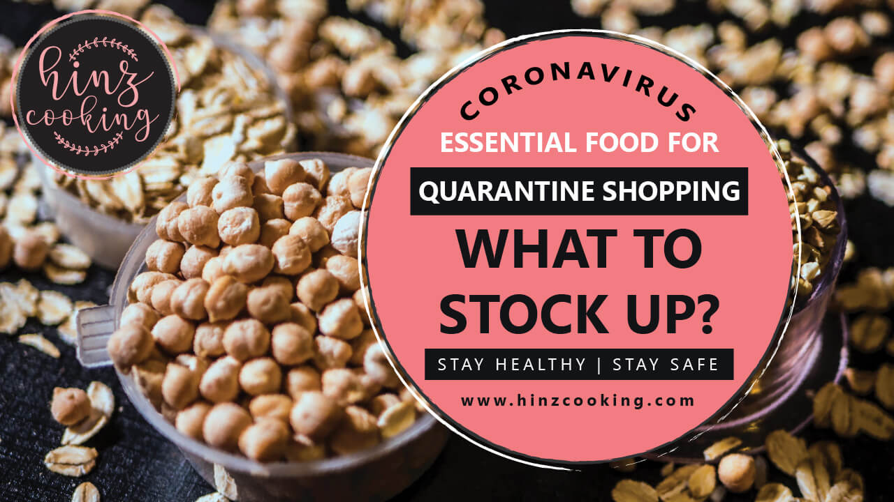 coronavirus food list - quarantine shopping - what to stock up-01