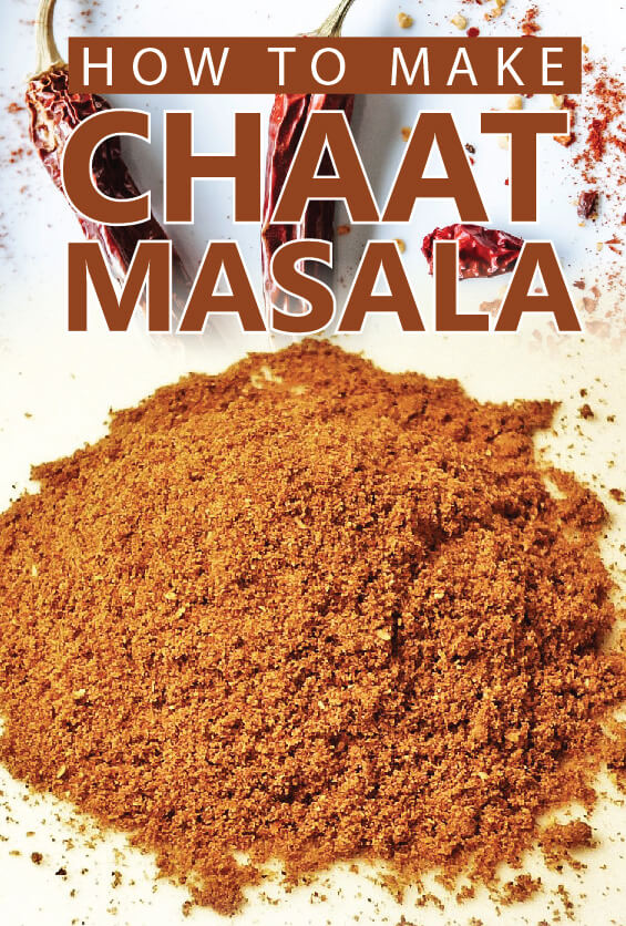 chaat masala ingredients - chaat masala powder recipe