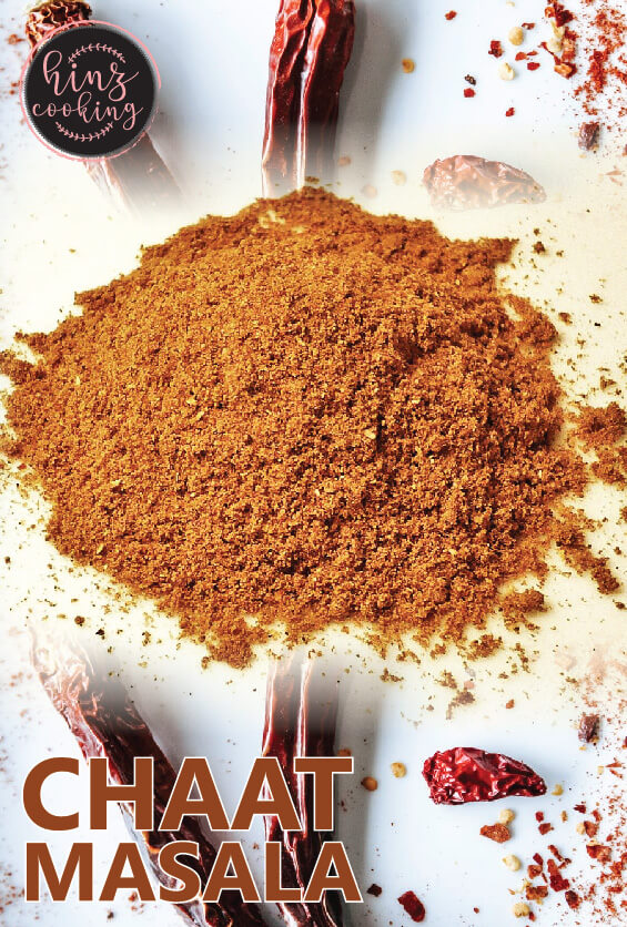 chaat masala recipe - chaat masala powder