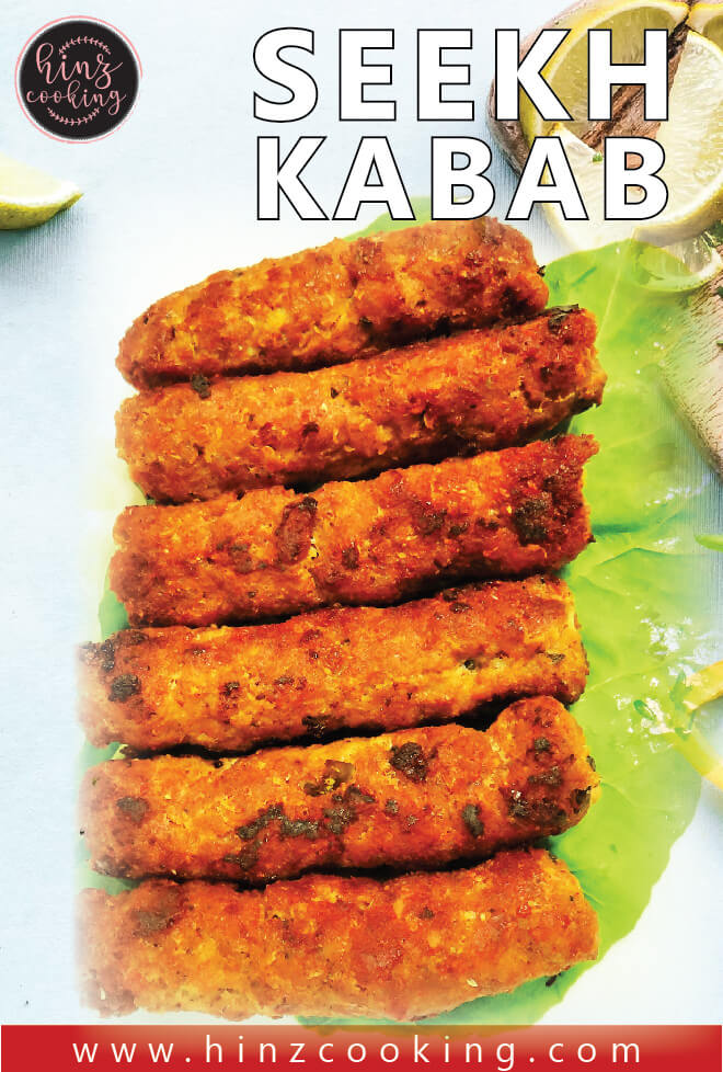 seekh kabab - how to make seekh kabab