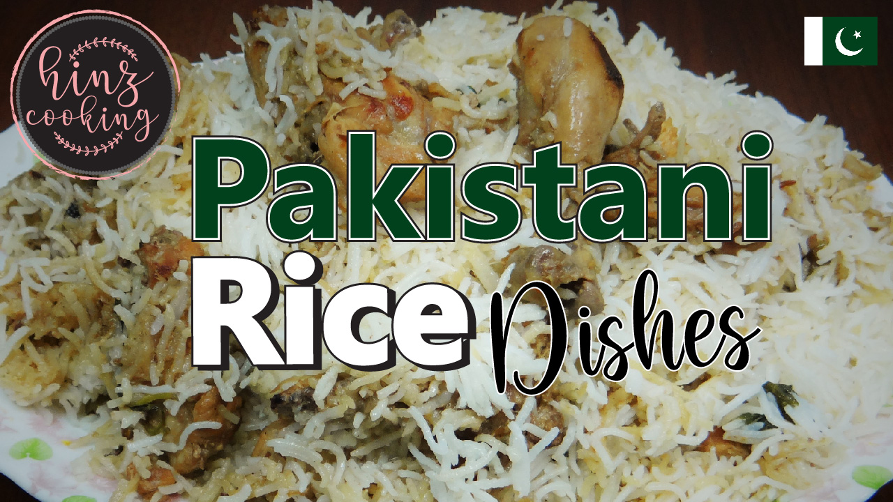 pakistani rice dishes