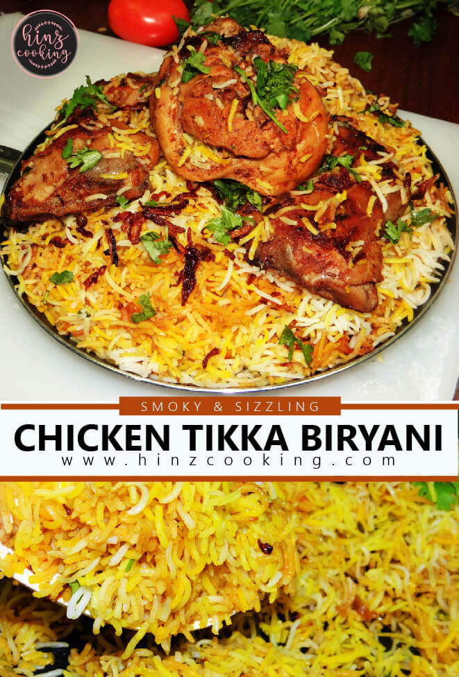 chicken tikka biryani youtube