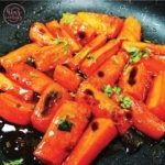 Honey-Garlic-Butter-Roasted-Carrots