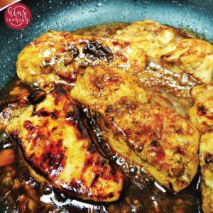 honey garlic chicken breast recipe
