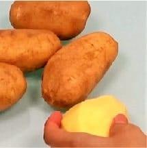 creamy garlic mashed potatoes step 1